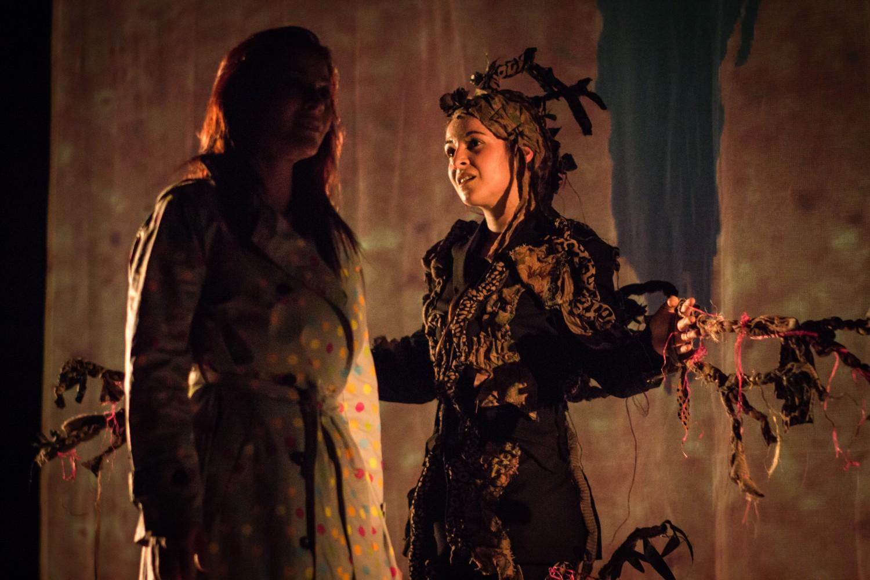 La Voix de l'Arbre de la compagnie Teatro di Fabio