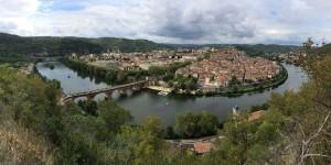 Vue sur Cahors